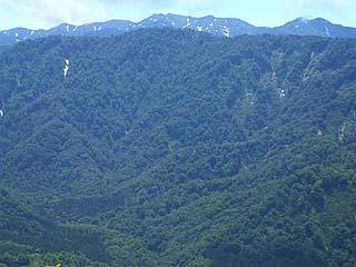 白神山地の懐に抱かれて」第一話「白神山地の由来」