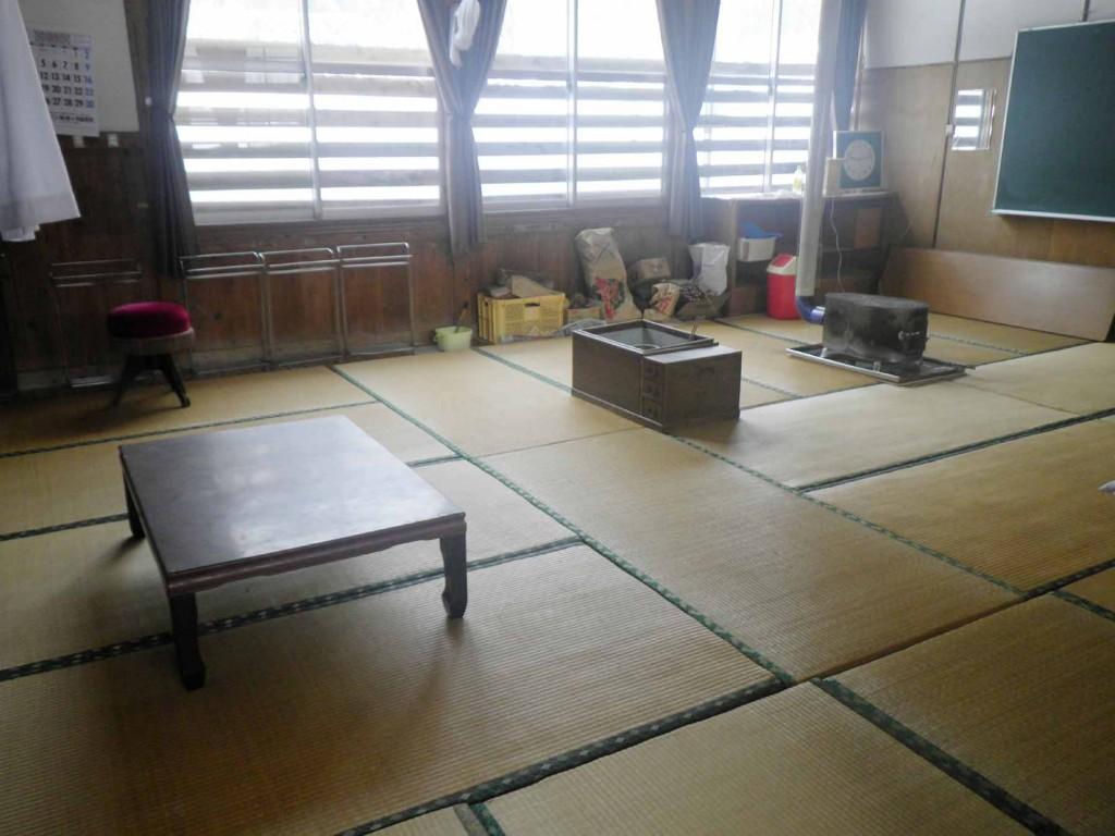 畳部屋です。20畳の大部屋です
