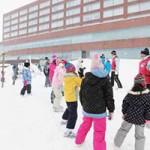 2014冬休み雪を使った北国の遊び体験(3)