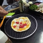 自然学校のピザ窯完成試食会