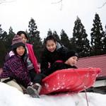2016冬休み雪を使った北国の遊び体験開催報告