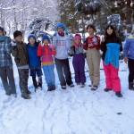 2017冬休み自然体験塾の報告